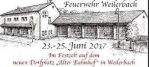 Feuerwehr Weilerbach 150 Jahre